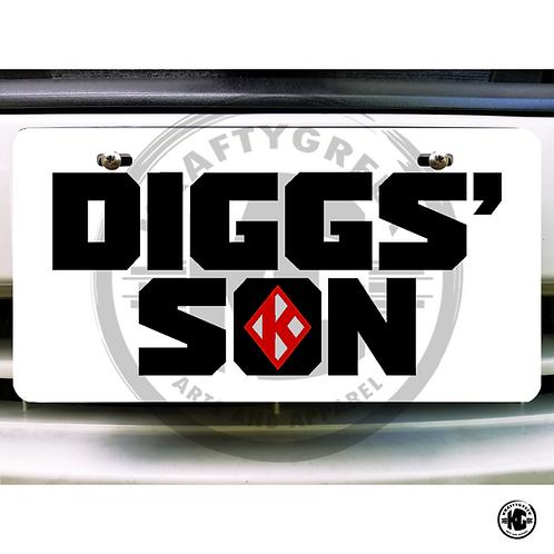 CAR TAG (DIGGS' SON)