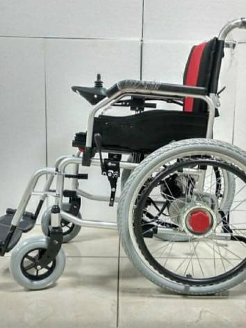 Motorised Wheelchair Side View