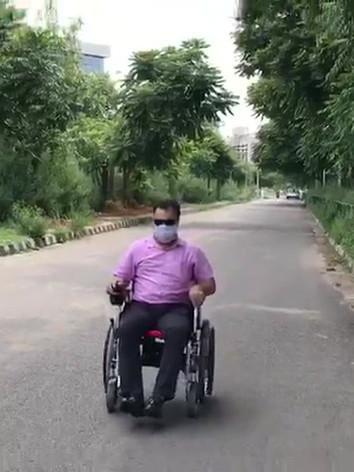 Motorised Wheelchair Test
