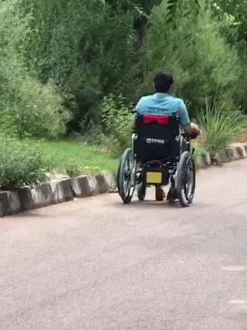 Motorised Wheelchair Demo Test