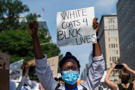 Being Black in the eyes of Medical Professionals during a Pandemic