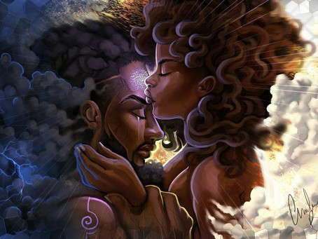 Black Love is a Revolution that will continue to be Televised Loud and Clear!!