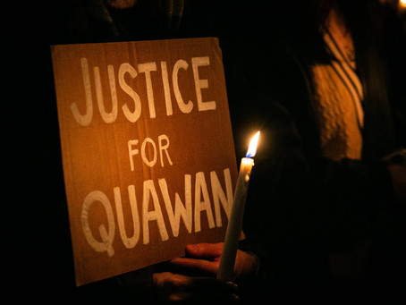 Why are we still dealing with unjustified deaths of black people? Justice for Quawan Charles.