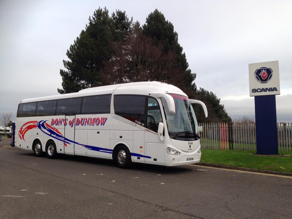 DH15 DON READY TO LEAVE THE SCANIA FACTORY