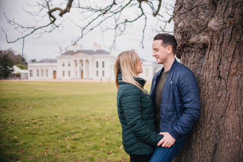 Rachel and Mike, Hylands House Couples Photography