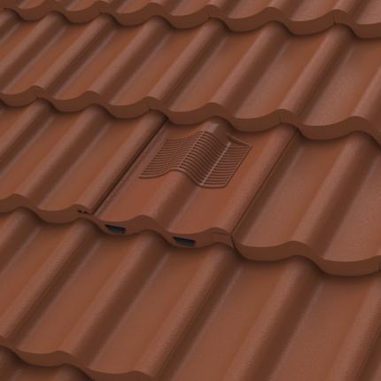 Manthorpe Double Pantile Tile Vent Inline
