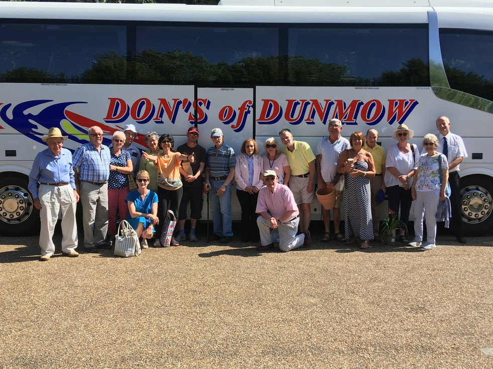 A DAY TRIP TO ANGLESEY ABBEY WITH DUNMOW DERMENTURE GROUP