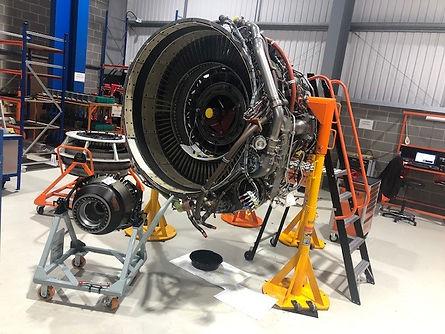 jet engine module chage