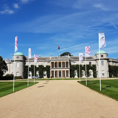 Goodwood House Flags