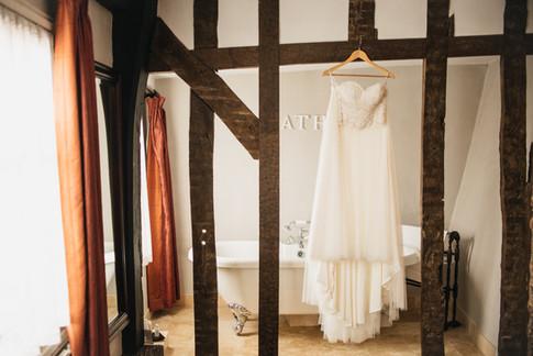 Wedding Dress Photography in Essex