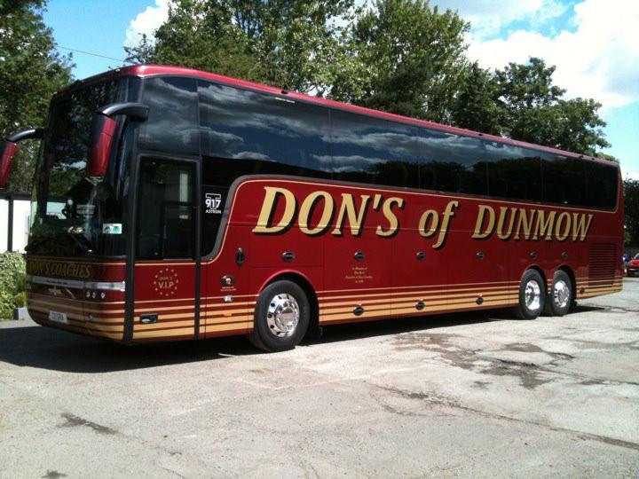 DH08 DON 52 SEAT VAN HOOL