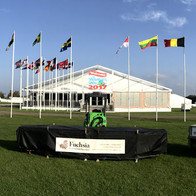 Flags at Showman's Show