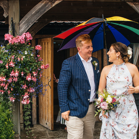 What happens if it rains at your wedding?