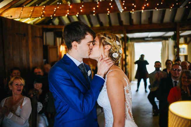 wedding ceremony at reid rooms