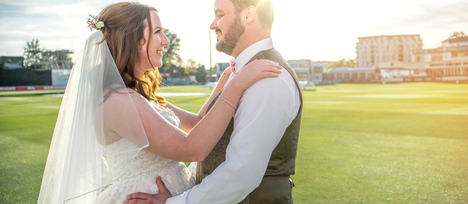 Sophie & Iain's Wedding at Essex County Cricket Ground