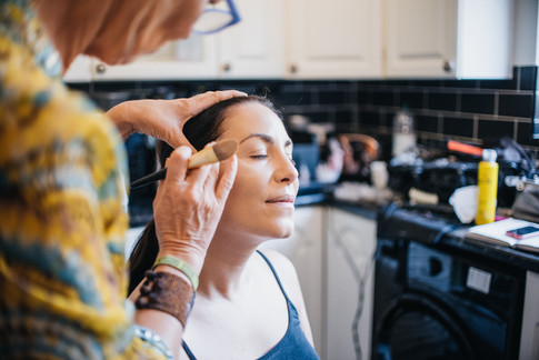 Bridal Makeup Photography in Essex