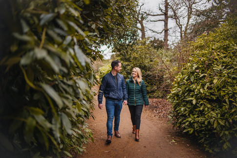 Rachel and Mike, Hylands House Essex, Engagement Photography