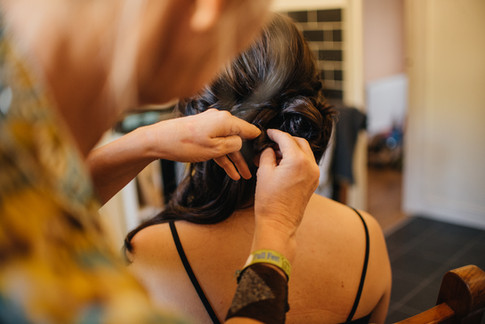 Bridal Hair Photography in Essex