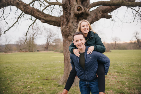 Rachel and Mike, Engagement Photos Essex