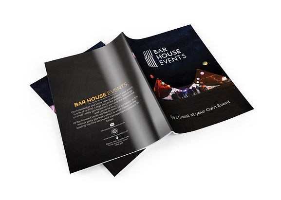 mobile bar price brochure