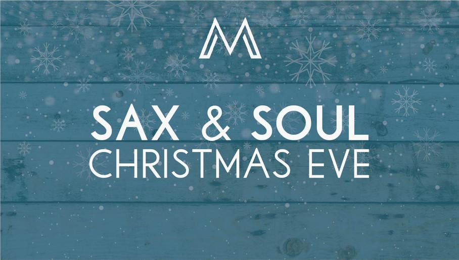 Christmas Market House Sax and Soul
