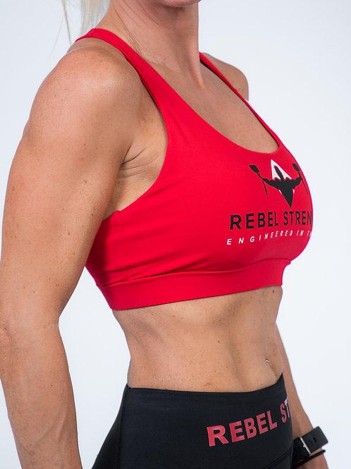 Rebel Strength – Cross Over Back Sports Bra