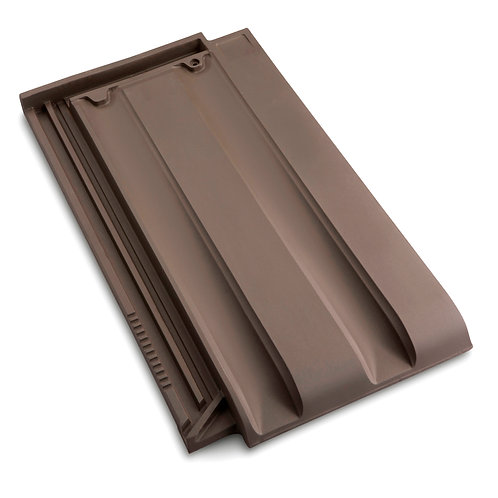 Innova Low Pitch Roof Tile Brown