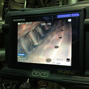 Jet engine orescope