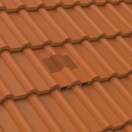Manthorpe Double Roman Tile Vent Inline