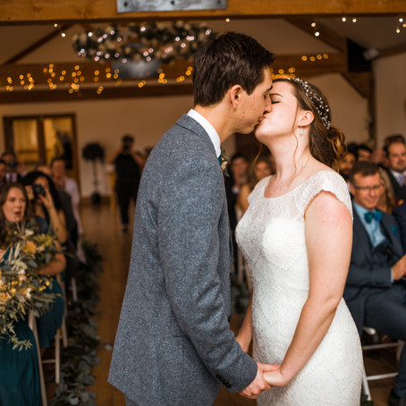 Ashley & Luke's Wedding at Maidens Barn