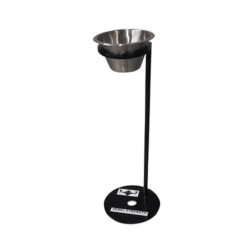 Rebel Strength Chalk Bowl and Stand