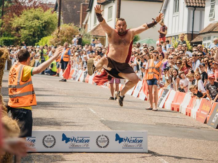 Spartans jump