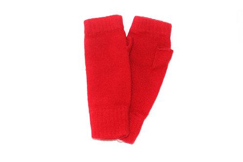 Red Cashmere Wristwarmer