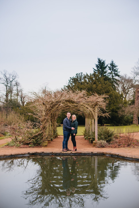 Grace and Lewis, Hylands House Fiance Photos