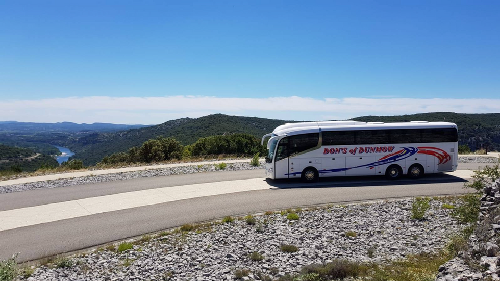 DH18 DON TOURING THE SCENIC ARDECHE