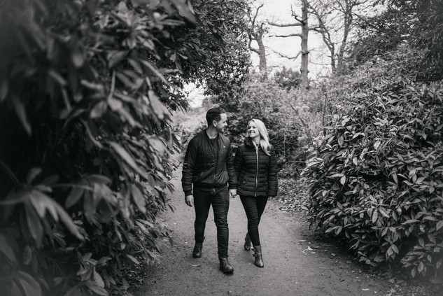 Rachel and Mike, Hylands House Engagement Photoshoot