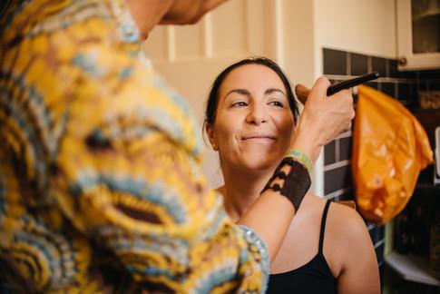 Bridal Makeup Preparation