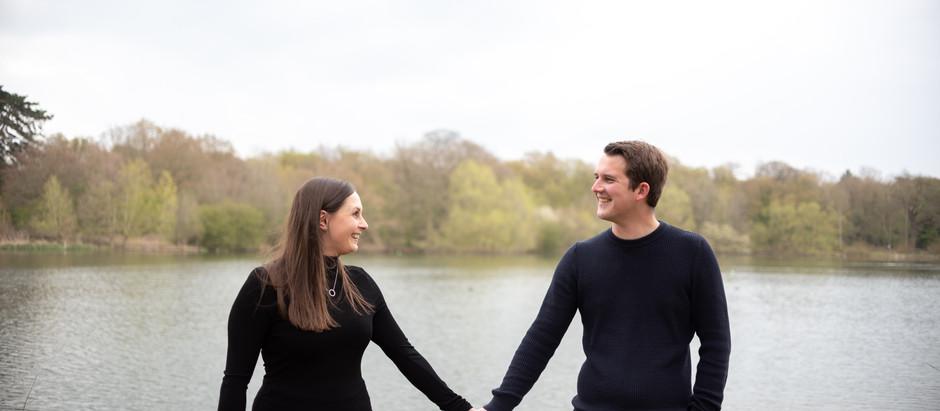 Samantha & Tom Engagement Shoot