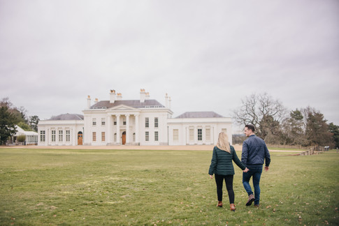 Rachel and Mike, Engagement Photos at Hylands House, Essex