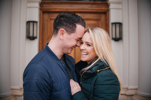 Grace and Lewis, Hylands House Engagement Photos