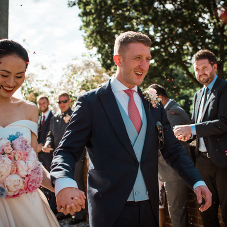 James & Lei Wedding at Hedingham Castle