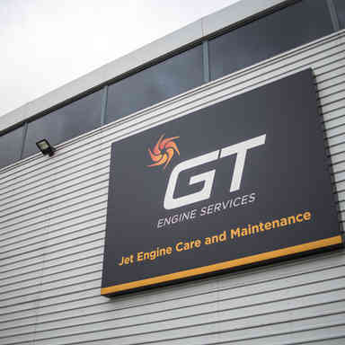 GT Engine Services at Stansted Airport