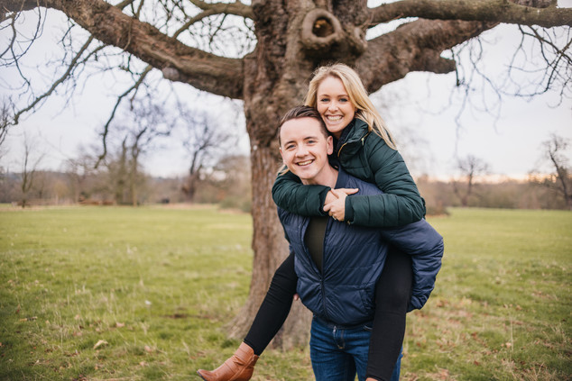 Rachel and Mike, Engagement Photos Hylands House