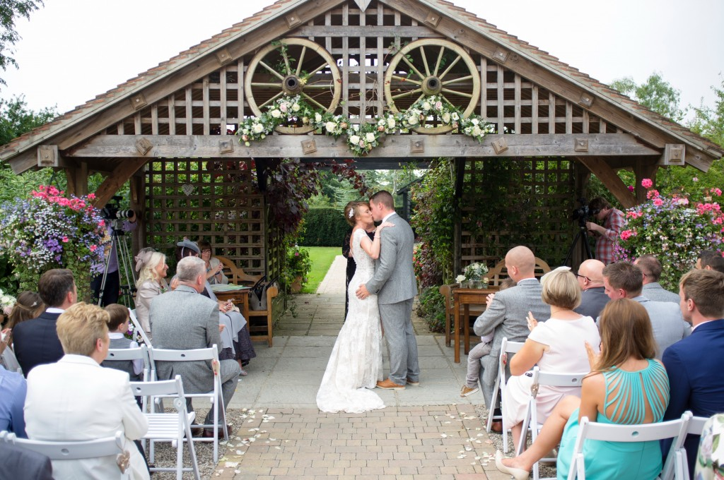 Maidens Barn Outdoor Ceremony