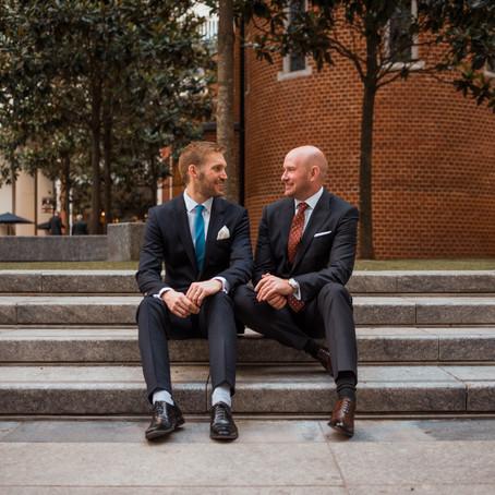 James & Nicks Wedding at Fitzrovia Chapel, London