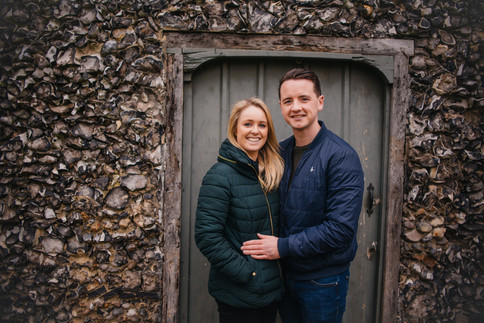 Grace and Lewis, Happy Couple Essex Photography