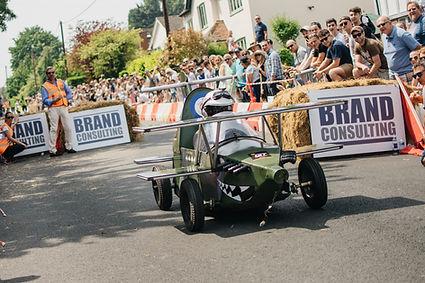 bi-plane soapbox racing