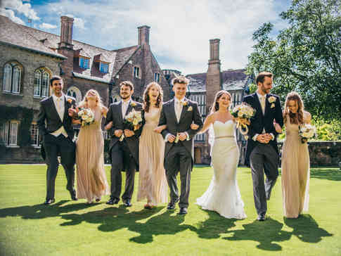 Cambridge Wedding Party