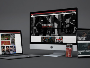 Rebel Strength | Product Photography & Web Design