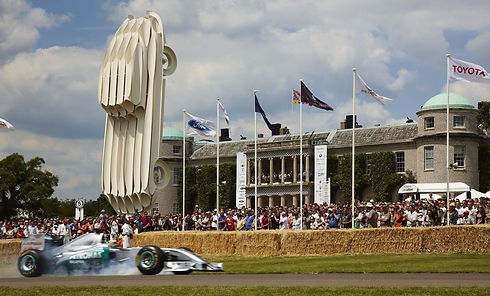 Goodwood Festival of Speed Flagpole Hire